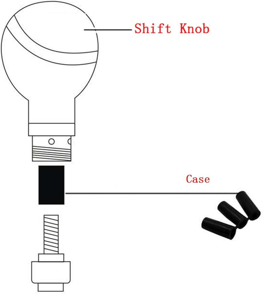 Mavota Cue Sports White Ball Manual Automatic Gear Shift Knobs