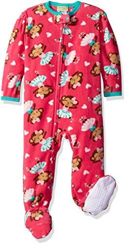 1fae0bef3 Komar Kids Big Girls  Monkey Ballerina Blanket Sleeper