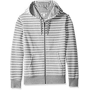 Amazon Essentials Men's Full-Zip Hooded Fleece Sweatshirt 25