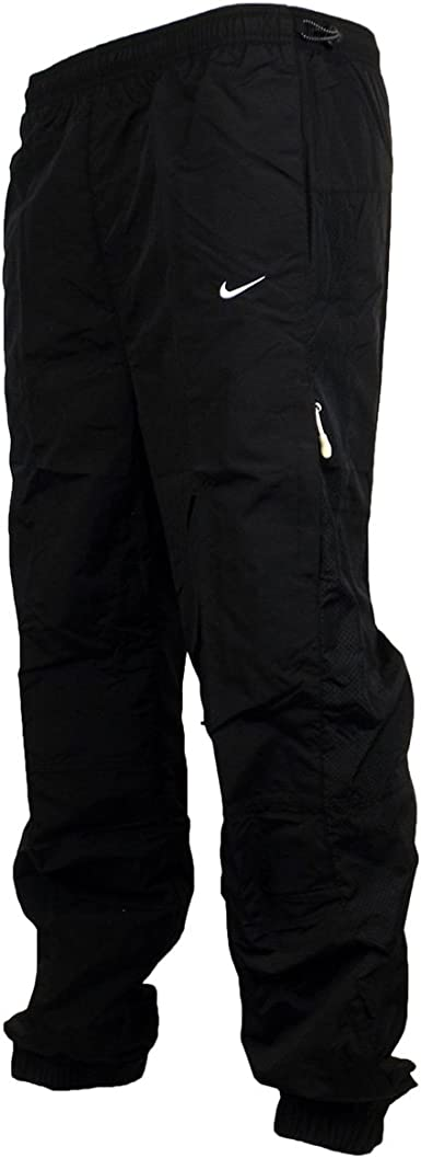 Nike Mens Woven Ad Tech Training Sport Fitness Tracksuit Bottoms Cuffed Pants Black Navy Xl Black Amazon Co Uk Clothing