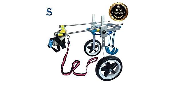 Ajustable para silla de ruedas para perro (S), peso 20 A 40 kg, patas traseras rehabilitación, luz peso: Amazon.es: Productos para mascotas