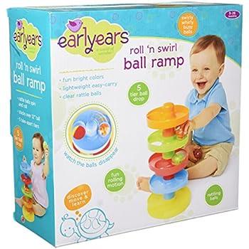 Earlyears Roll 'n Swirl Ball Ramp