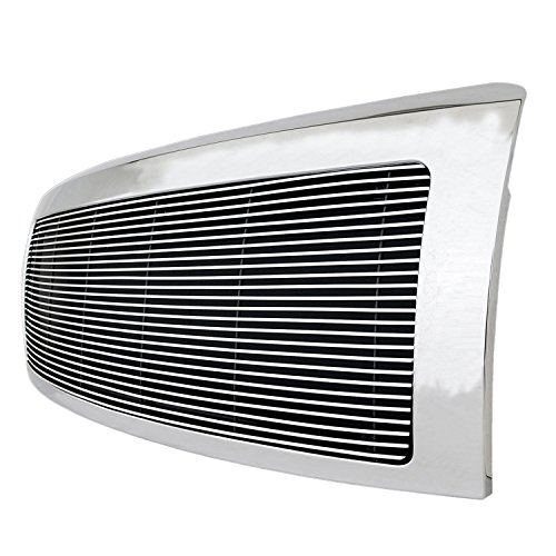 Paramount Restyling 42-0792 Full Replacement Packaged Billet Aluminum Grille with 4 mm Horizontal Bars