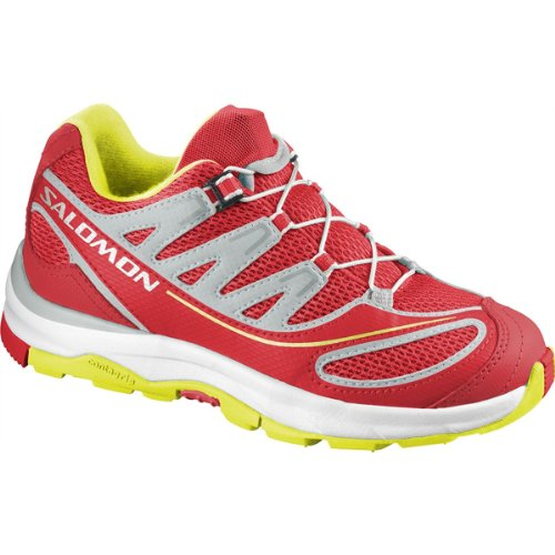 Salomon Zapatos para Niños Kids XA Pro 2K QuickWhite Mimosa Rojo Amarillo Quick White Mimosa Yellow Rot