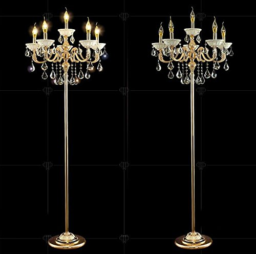 Zinc Alloy Heavy Base Floor Lamp Ground Chandelier Lamp
