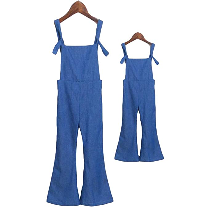 latest style fantastic savings online for sale Amazon.com: Little Girls Adjustable Strap Denim Bib Overalls ...
