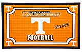 Team Sports America Tennessee Volunteers Embossed Floor Mat, 18 x 30 inches