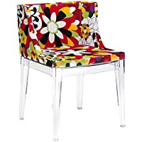 Poly and Bark Flower Dining Chair