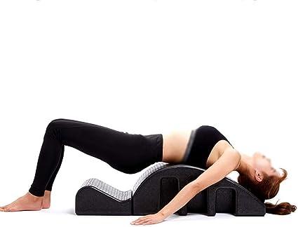 Amazon.com : Pilates Yoga Wedge Spine Corrector Back Pain ...