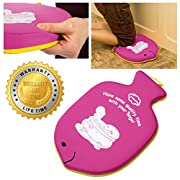 Premium Pink Baby Bath Kneeler for smarts moms | Take Care of Infants Health | No More Drama During Baby Bath Time | Baby Bath Kneeler Pad | Fun Experience of Bathtime with Toibaths Kneeler