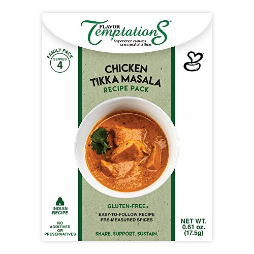 Flavor Temptations Chicken Tikka Masala Recipe Pack, Set of 2