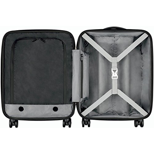 """Victorinox Spectra 2.0 Dual-Access Hardside Spinner Suitcase, Red, Carry-On, Extra Capacity (21.7"""")"""