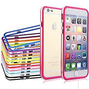 QHY Dual Middle Transparent Colorful TPU+PC Soft Back Case for iPhone 6 Plus (Assorted Color) , Green