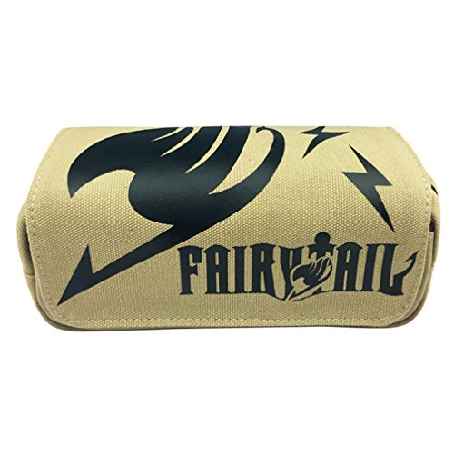 nime Cosplay Pencil Holder Cosmetic Bag Wallet Pencil Case Stationery Pouch Bag Pen Bag (Fairy Tail) ()