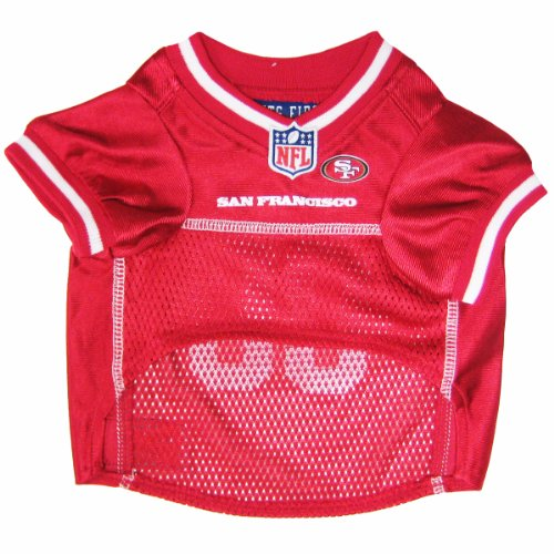 Pets First NFL San Francisco 49ers Jersey, Large