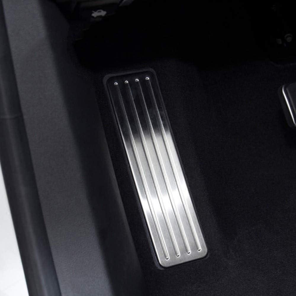 DANDELG Bremse Linke Fu/ßst/ütze Pedalplatte Edelstahl Auto Interieur Zubeh/ör Fit f/ür Cadillac XT5 2016 2017 2018