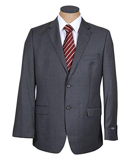 Ralph Lauren Mens Gray Pinstripe Slim Fit Wool Suit- Size (Ralph Lauren Pinstripe Suit)