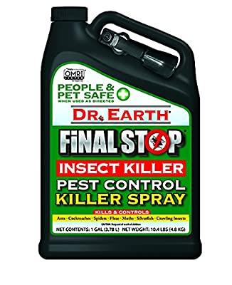 Dr. Earth Final Stop Pest Control Killer Spray 1 Gallon RTU