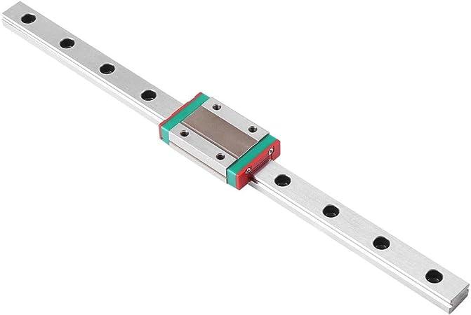 400mm LML9B linear carril carril de guía en miniatura 9mm Ancho bloques de diapositiva 1 un 2 un