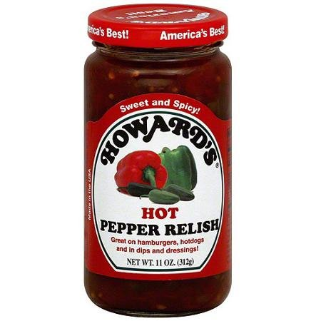 (Howards Relish Hot Pepper)