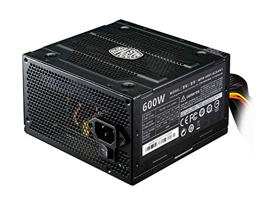 cooler master power supply 600w - 2