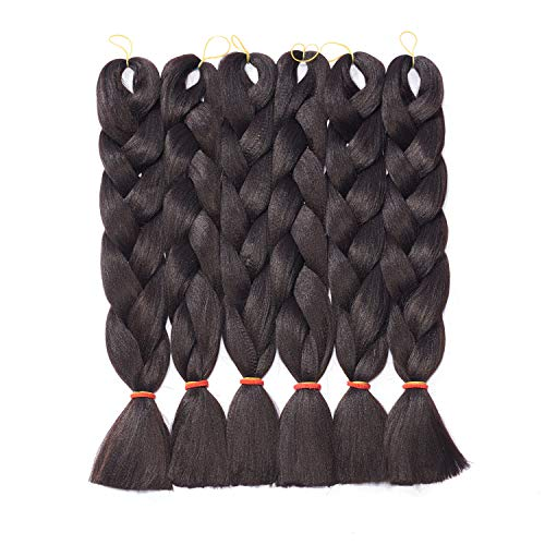 Crochet Braiding Extensions Temperature Synthetic