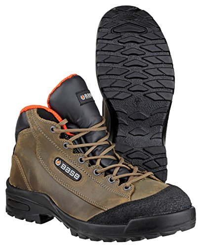 Base S3SRC imperméable Graisse de bœuf haute sécurité Chaussures, B186-S3-T46