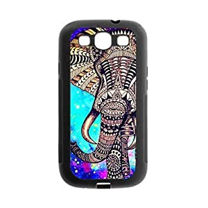 Aztec Vintage Elephant Protective Gel Rubber Back Fits Cover Case for SamSung Galaxy S3 hjbrhga1544