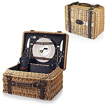 NBA Champion Picnic Basket with Deluxe Service for Two