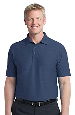 76b7e107b Port Authority Men s Comfort Moisture Wicking Polo Shirt at Amazon Men s  Clothing store