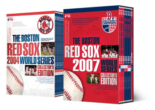 2004 World Series Collectors - The Boston Red Sox 2004 & 2007 World Series Collector's Editions