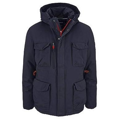 Rhode Island Outdoorjacke Jacke Herren Marine Blau  Amazon.de  Bekleidung e1e851fdc7