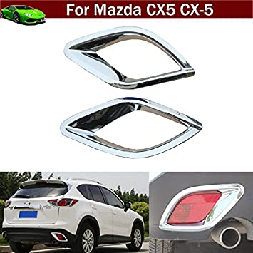 Chrome Interior Inside Door Handle Frame Cover Trim for Mazda 6 Atenza 2013-2015