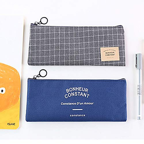 à Toile Grande buy à Joyfeel Crayons Grille à de Sac cosmétiques Trousse Stockage Simple Noire Sac Main capacité qwEdX0Xg