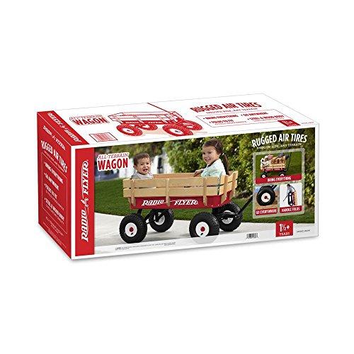 042385916033 - Radio Flyer Full Size All-Terrain Steel & Wood Wagon carousel main 3
