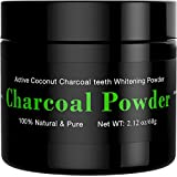 Activated Charcoal Teeth Whitening Powder[BRIGHTENS TEETH] Natural Whitening Teeth, Personal Coconut Charcoal 60g / 2.11oz