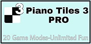 Piano Tiles 3 Pro - 20 Game Modes from DigiEvo. App Studio