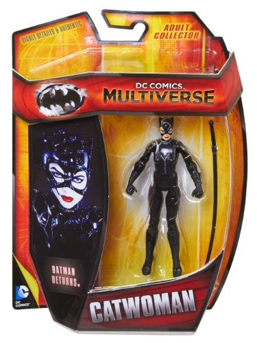 "DC Comics Multiverse 4"" Basic Figure, Catwoman (Batman Returns)"