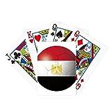 Egypt National Flag Soccer Football Poker Playing Card Tabletop Board Game Gift