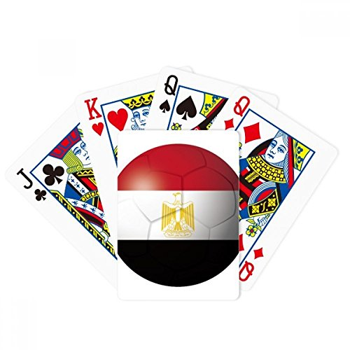 Egypt National Flag Soccer Football Poker Playing Card Tabletop Board Game Gift by beatChong