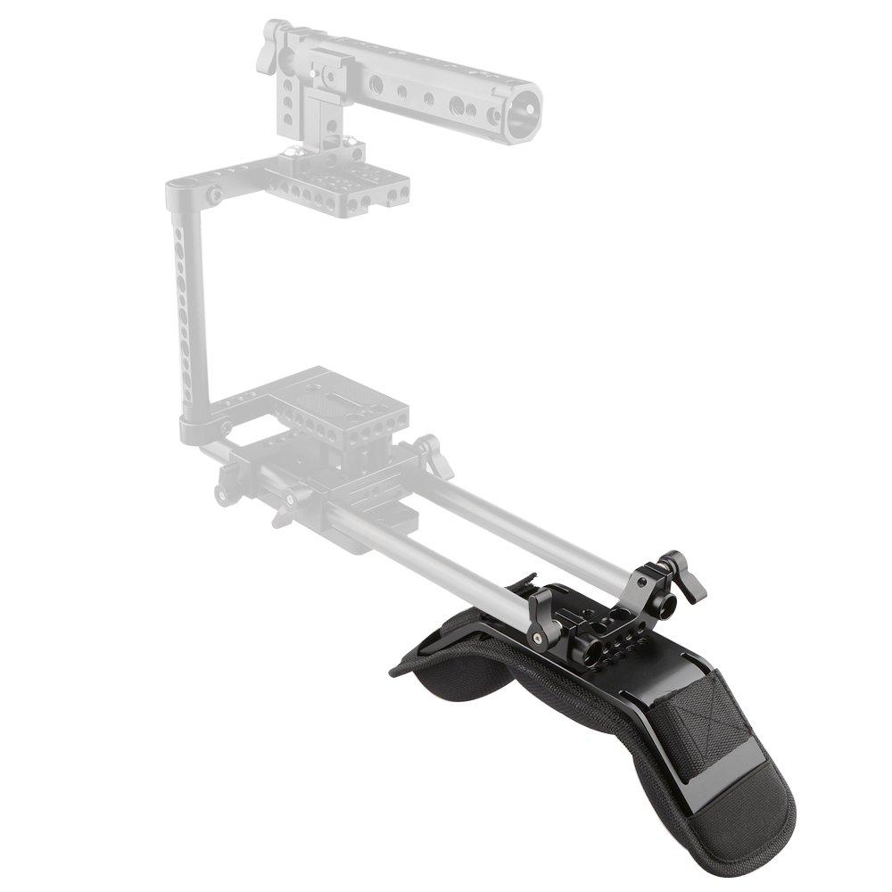 CAMVATE DSLR Rig Shoulder Pad with 15mm Railblock for Video Camcorder Camera DV//DC Support System DSLR Rigs