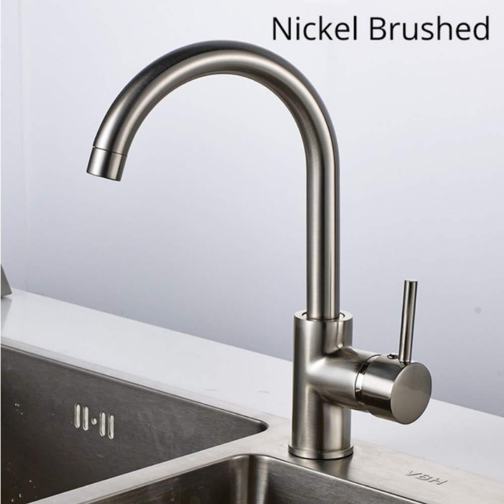 Lddpl Kitchen Faucet 360 Degree redating Water Faucet Deck Mounted Kitchen Water Taps