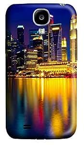 Samsung S4 Case Beautiful city at night 07 3D Custom Samsung S4 Case Cover WANGJING JINDA