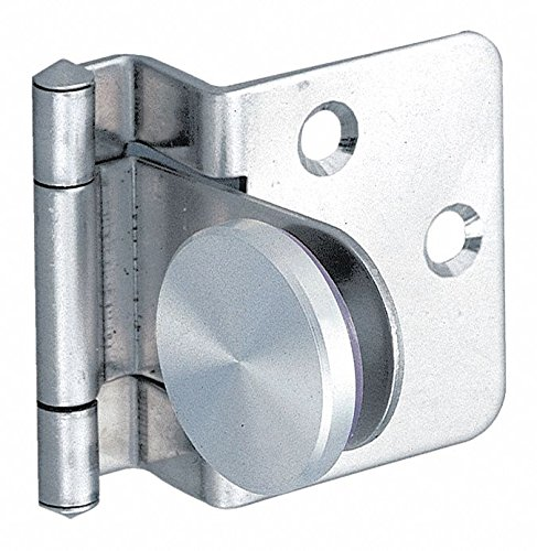 1-17/64 x 1-29/64 Stainless Steel Lift-Off Hinge With Holes and 4.4 lb. Load Capacity by LAMP