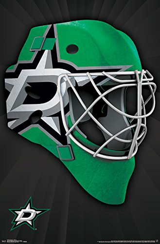 Trends International Dallas Stars Mask Wall Poster 22.375