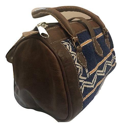 borsa Pelle del Borsetta kilim e Marocco BOHO donna Vintage pochette 4FFdgn
