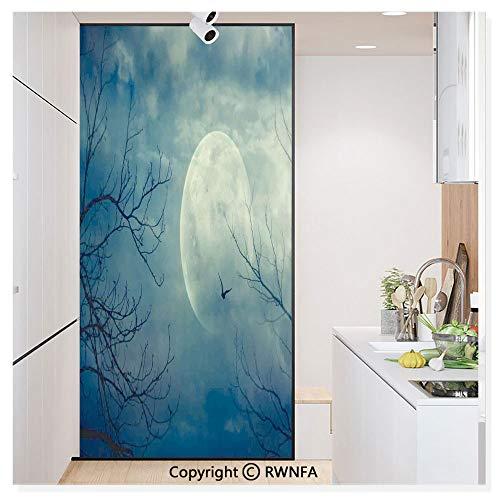 RWN Film Decorative Window Films Kitchen Glass Sticker