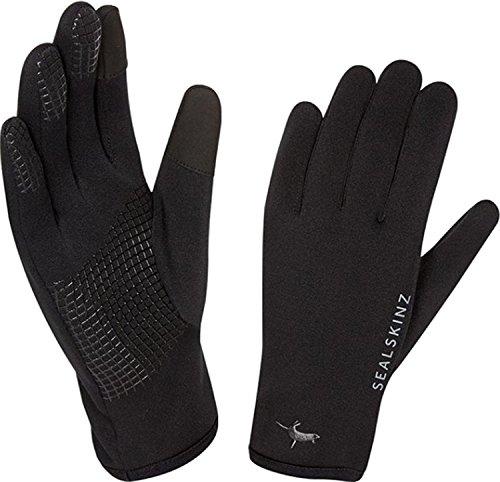 (SEALSKINZ Fairfield Gloves, Black, Large)
