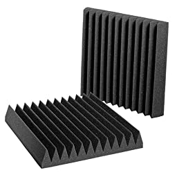 Auralex Acoustics Studiofoam Wedgies Acoustic Absorption Foam, 2\