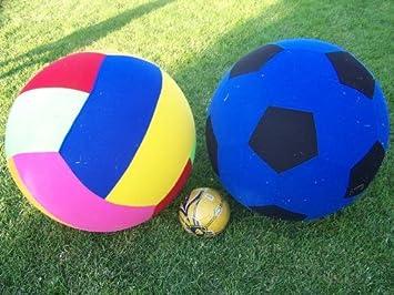 Nuevo gran pelotas gigantes 2 - inflable 76,2 cm alto pelota y 76 ...